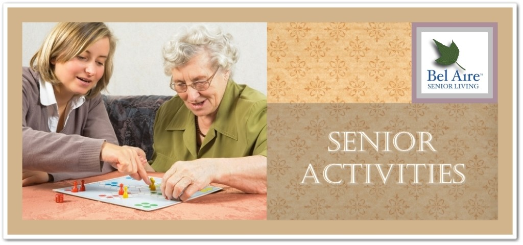 Senior Activities | Bel Aire Senior Living – Assisted Living and